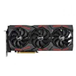 ASUS ROG Strix Radeon RX 5700 XT OC Edition 8GB GDDR6 - Tarjeta gráfica (Ventiladores Axial-Tech, tecnología Auto-Extreme, Super Alloy Power II, MAX Contact, Fan Connect II, Aura Sync, GPU Tweak II)