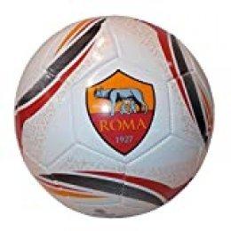 AS Roma Mondo 13242 Pelota de fútbol Interior y Exterior - Pelotas de fútbol (Multicolor, Específico, Balón de 32 Paneles, 300 g, Interior y Exterior, Imagen)