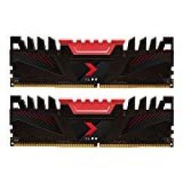 PNY XLR8 Kit de Módulos de Memoria RAM DDR4 para Ordenador de Escritorio DIMM 3200 MHz 32GB (2x16GB) Negro