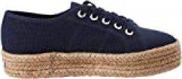 Superga 2730-cotropew, Zapatillas de Gimnasia para Mujer, Azul (Navy 933), 39.5 EU