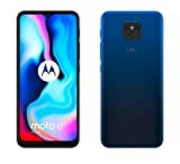 "Motorola Moto E7 Plus - 6.5"" Max Vision HD+, Qualcomm Snapdragon 460, 48MP sistema de doble cámara, 5000 mAH de batería, Dual SIM, 4/64GB, Android 10 - Color Azul"