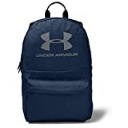 Under Armour Loudon Backpack Mochila, Unisex Adulto, Academy Blue Medium Heather (408)/Pitch Gray, Talla única