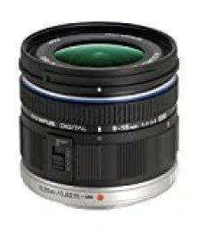 Olympus Objetivo M.Zuiko Digital ED 9-18mm F4.0-5.6, Zoom Gran Angular, Adecuado para Todas Las cámaras MFT (Modelos Olympus OM-D & Pen, Serie G de Panasonic G), Negro