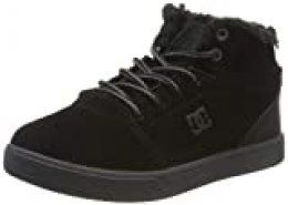 DC Shoes (DCSHI) Crisis WNT-High-Top Shoes for Boys, Botas Slouch para Niños, Black, 30 EU