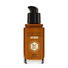Max Factor FaceFinity 3 en 1 All Day Flawless Base de Maquillaje Tono 100 Sun Tan - 30 ml