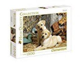 Clementoni - Puzzle 1500 Piezas Perros de Caza (31976)