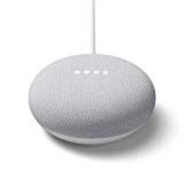 Nexus - Altavoz Inteligente - Google Nest Mini, 2ª Generación, Chalk/Rock, Blanco