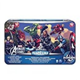 Spin Master Games- Avengers 3 Puzzle Panorama Lata, Colores Variados (6033222)
