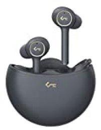 Key Series Auriculares Inalámbricos Bluetooth 5.0, Reducción de Ruido Activa, Auriculares con Cancelación de Ruido con Control Táctil de 4 Micrófonos, Carga Inalámbrica Qi Key Series T18NC