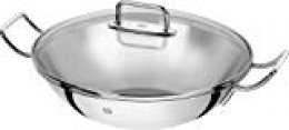 Zwilling Wok Plus, Acero Inoxidable, 32cms