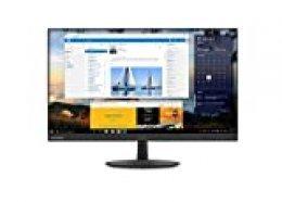 """Lenovo L27q - Monitor de 27"""" (Pantalla QHD/IPS, 2560 x 1440 pixeles, tiempo de respuesta de 4 ms, HDMI), Color plata"""