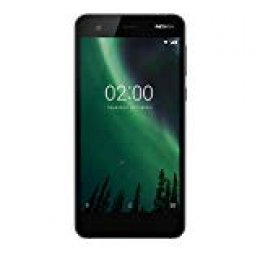 "Nokia 2 - Smartphone De 5"" (Quad-Core 1,3 GHz, Memoria 8 GB Ampliable hasta MicroSD De 128 GB, Cámara De 8 MP, AF, Android 7.0) Color Negro"