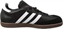 adidas Samba, Botas de fútbol para Hombre, Negro (Black/White/Gum), 39 1/3 EU