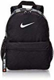 Nike Y NK BRSLA JDI Mini BKPK Mochila, Juventud Unisex, Black/Black/White, One Size