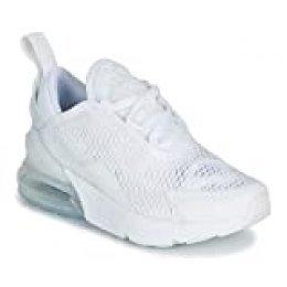 Nike Air MAX 270 (PS), Zapatillas de Running para Niños, Blanco (White/White/Mtlc Silver 103), 31 EU