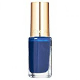 L'Oréal Paris Make-Up Designer Color Riche Le Vernis 245 OMG Blues Azul esmalte de uñas - Esmaltes de uñas (Azul, OMG Blues, 1 pieza(s), 20 mm, 70 mm, 20 mm)