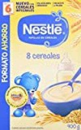 Nestlé Papilla 8 cereales - Alimento Para bebés - Paquete de 8x900 g - Total: 7.2 kg
