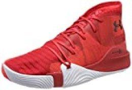 Under Armour UA Spawn Mid, Zapatos de Baloncesto para Hombre