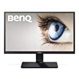"BenQ GW2470ML - Monitor para PC Desktop de 23.8"" Full HD (1920x1080, VA, 16:9, HDMI, DVI, VGA, 4ms, altavoces, contraste nativo 3000:1, Eye-care, Flicker-free, Low Blue Light Plus), color negro"