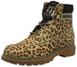 Cat Footwear Lyric, Botines para Mujer, Multicolor (Cheetah Cheetah), 37 EU