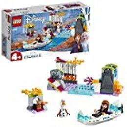 LEGO Disney Princess - Expedición en Canoa de Anna, Incluye Minifigura de Olaf y un Conejito, Piragua de Juguete para Construir, Juguete de Frozen 2 (41165)