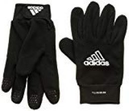 adidas Fieldplayer Soccer Gloves, Unisex Adulto, Negro/Blanco, 9