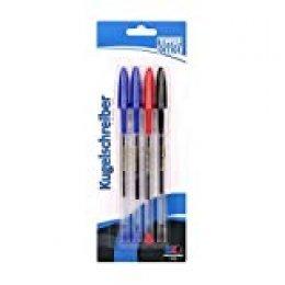 TTO Classic - Bolígrafo (4/1, en blíster), varios colores