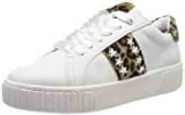 Marco Tozzi 2-2-23735-33, Zapatillas para Mujer, Blanco (White/Leo 146), 40 EU
