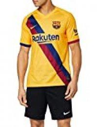 NIKE FCB M Nk BRT Stad JSY SS AW - Camiseta de Equipacion para Hombre, Varsity Maize, XL