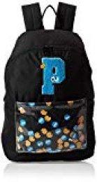 PUMA Sesame Street Backpack Sport Mochilla, Juventud Unisex, Black, OSFA
