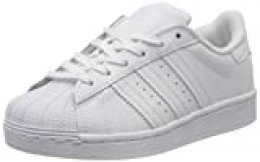 Adidas Superstar C, Zapatillas de Deporte Unisex Niños, Blanco (Cloud White/Cloud White/Cloud White), 32 EU