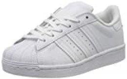 Adidas Superstar C, Zapatillas de Deporte Unisex Niños, Blanco (Cloud White/Cloud White/Cloud White), 32 EU