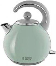 Russell Hobbs Bubble - Hervidor de Agua Eléctrico (2300 W, 1,5l, Acero Inoxidable, Verde Pastel) - ref. 24404-70