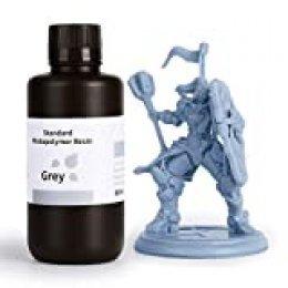 ELEGOO LCD UV 405nm 3D Resina Rápida para LCD Impresora 3D 500g Fotopolímero Resina Gris