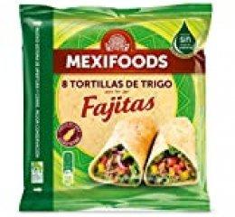 Mexifoods, Tortillas de Trigo - 8 unidades,  320 gr