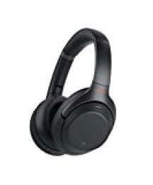 Sony WH1000XM3 - Auricular Noise Cancelling (Bluetooth, sonido adaptativo, compatible con Alexa y Google Assistant, 30h de batería, óptimo para trabajar en casa, llamadas manos libres), negro