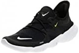 Nike Wmns Free RN 5.0, Zapatillas de Atletismo para Mujer, Multicolor (Black/White/Anthracite/Volt 000), 36.5 EU