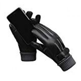 XIANGUO Guantes Invierno Ciclismo, Guantes Pantalla Tactil Hombre Guantes Antideslizantes Mpermeables Calientes