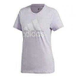 adidas W Bos Co tee Camiseta, Mujer, matpur, M