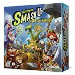 Smash Up - Munchkin, juego de cartas (Edge Entertainment EDGSU07) , color/modelo surtido