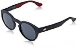 Tommy Hilfiger TH 1555/S gafas de sol, BL REDWHT, 48 para Hombre