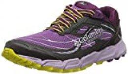 Columbia Caldorado III, Zapatillas de Running para Asfalto para Mujer, Morado (Crown Jewel, Gi 523), 43 EU