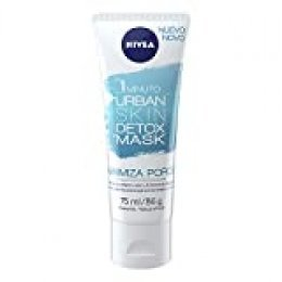 NIVEA mascarilla facial minimiza los poros urban detox tubo 75 ml