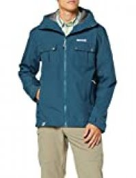 Regatta Tarnel Waterproof and Breathable Hooded Multi Pocket Shell Chaqueta, Hombre