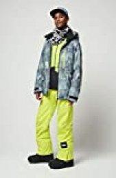 O'NEILL PM Diabase Chaqueta, Hombre, Multicolor (Green AOP), XL