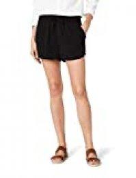 Only Onlturner Shorts Wvn Noos Pantalones Cortos, Negro (Black Black), 36 (Talla del Fabricante: 34) para Mujer