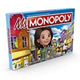 Hasbro Monopoly- Juego Ms Monopoly, Multicolor, E8424103