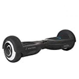 """SmartGyro X2 UL v.3.0 Black - Potente Patinete Eléctrico Hoverboard, Ruedas de 6.5"""" Antipinchazos, Batería de Litio 4400 mAh, Velocidad Máxima 12 Km/h, Certificado UL, Color Negro"""