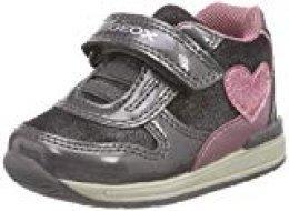 Geox B Rishon Girl B, Zapatillas para Bebés