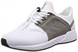 hummel Legend NP, Zapatillas Unisex Adulto, Blanco (White 9001), 38 EU